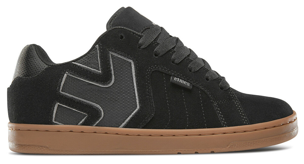 Etnies Fader 2 Black/Grey/Gum 43 EU (10 US / 9 UK)