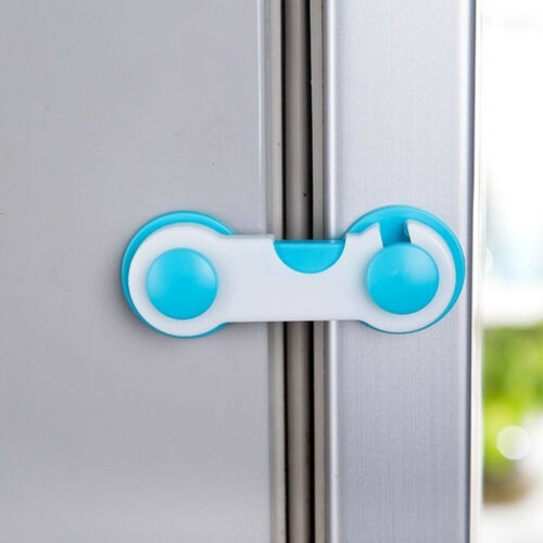 4Pcs Child Security Kids Box Drawer Cupboard Wardrobe Door Fridge Safety Lock US