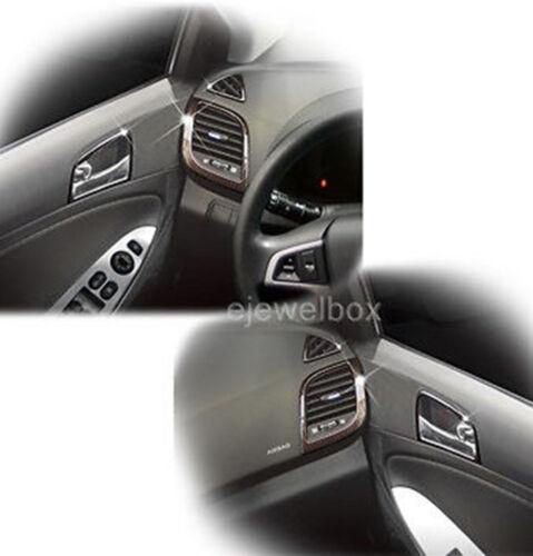 Carbon Interior Cover Molding Trim for Hyundai ACCENT 4//5door 12-13 w//Tracking.