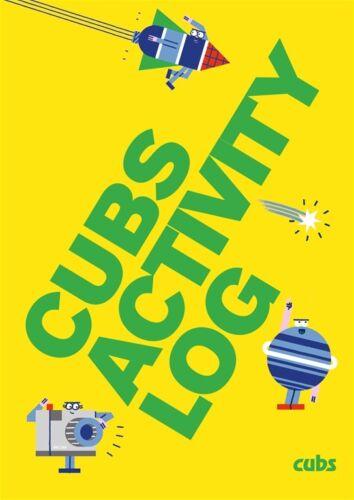 CUB ACTIVITY LOG BOOK OFFICIAL CUBS UNIFORM NEW