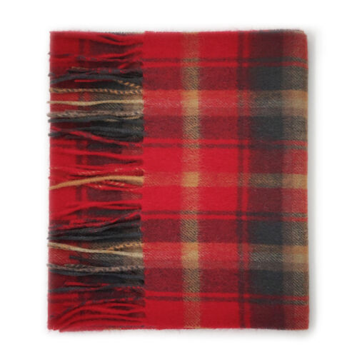 Dark Maple Kiltane of Scotland 100/% Cashmere Scottish Tartan Scarf