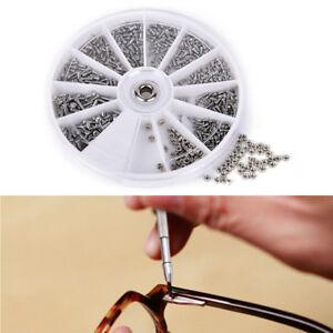 600pcssortierte-Verbindungsschrauben-fuerUhr-Brillen-Uhrmacher-Reparatur-WerkzeUU