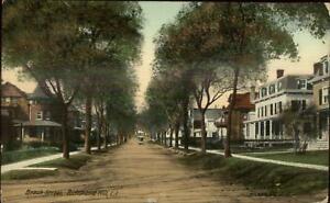 Richmond-Long-Island-NY-Beach-Street-c1910-Postcard