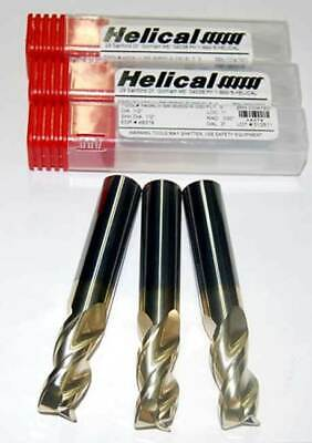 """Variable Pitch ZrN End Mill-Aerospace Aluminum CR Helical 3//8/"""" x .015/"""""""