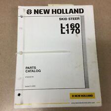 New Holland L160 L170 Skid Steer Loader Parts Manual Catalog Book List 87359325