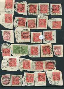 NEW-SOUTH-WALES-1913-1935-SELECTION-OF-NEW-SOUTH-WALES-POSTMARKS-X-45-FINE