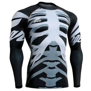 Dynamique Fixgear Cfl_55 Skin-tight Compression Shirt Under Training Base Layer Mma S~4xl