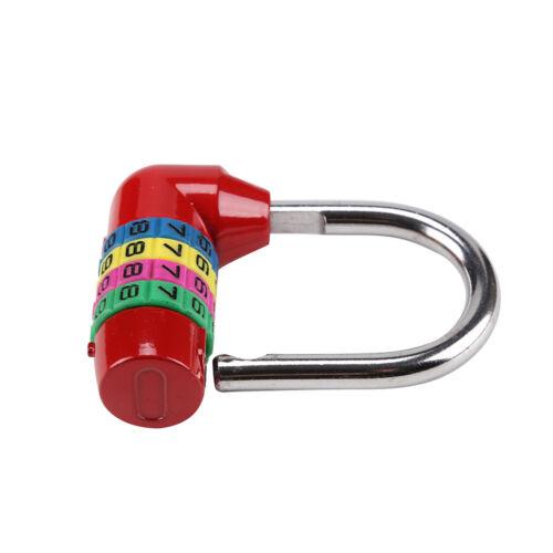 Populaire Réinitialisable 4 lettre Code Combinaison Mot de passe cadenas verrouillage de sécurité