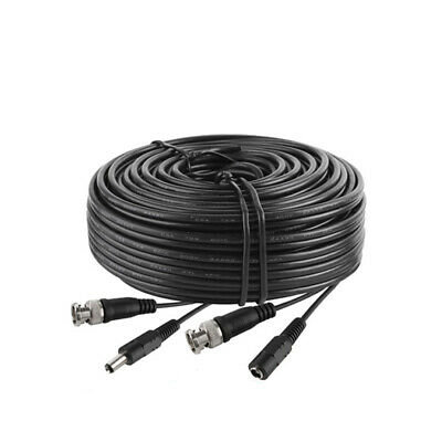 New 100ft feet 30m meter DC Male to Female Power Cable with BNC Male Plug