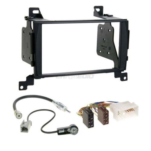 Hyundai santa fe cm 06-09 2-din radio del coche Kit de integracion adaptador cable radio diafragma