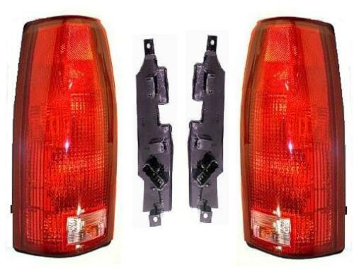Fits 96 1996 Chevy GMC Dually Truck Taillight Taillamp w// Circuit Pair Set NEW