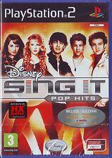 DISNEY SING IT: POP HITS (2009) PS2 ORIGINALE NUOVO SIGILLATO