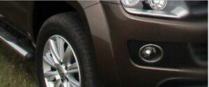 VW-Amarok-Chrome-Fog-Light-Lamp-Surrounds-Trim-2010-15-Quality-S-Steel