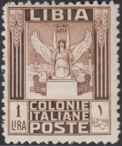 Italy Libia - Sassone n. 65 cv 3600$ - WITH CERTIFICATE - SUPER CENTERED - MNH**