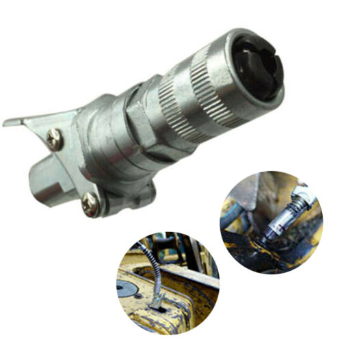 """1x Grease Gun Coupler Quick Release Heavy-Duty Fitting 1//8/"""" NPT Thread Adapter~"""