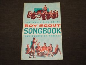 VINTAGE BSA BOY SCOUTS OF AMERICA 1963 150 FUN TO SING SONGS SONGBOOK BOOK