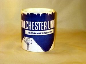 Colchester-United-Football-Programme-Collectors-MUG