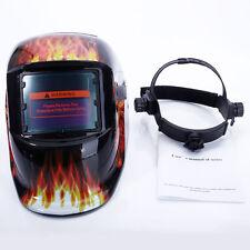 Auto Darkening Pro Solar Welding Helmet Arc Tig Mig Grinding Welder Mask Leopard