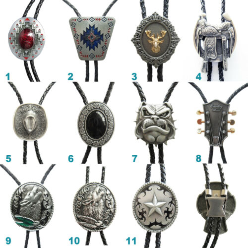 Western Wildlife Cowboy Cowgirl Bolo Tie Mix Styles Choice also Stock in US