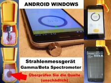 Radiation Meter Geiger Counter Dosimeter Beta Gamma Spectrometer Android