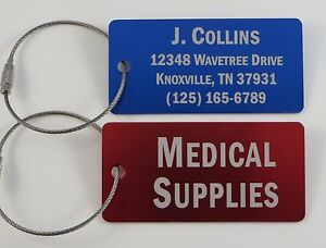 Custom-Metal-Luggage-Bag-Tag-with-steel-loop-cable-Free-Engraving