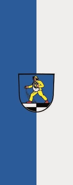 Fahne Flagge Blaufelden im Hochformat verschiedene Größen