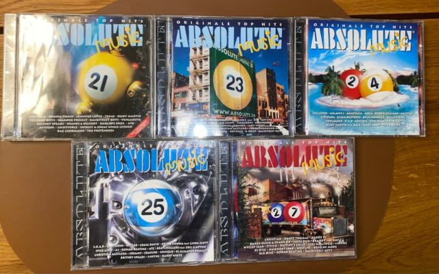 Absolute Music : Absolute musik vol 21, 23, 24, 25, 27,…