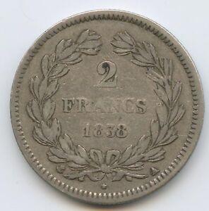 Louis-Philippe (1830-1848) 2 Francs 1838 Paris