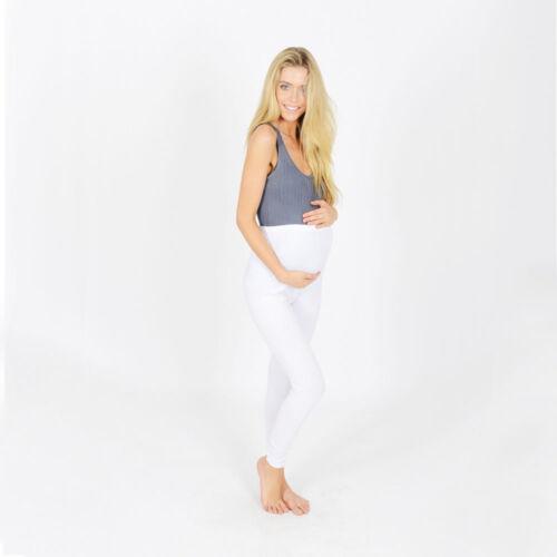 New Thick Comfortable Maternity Cotton Leggings Full Length PREGNANCY V1*Mtrlgs