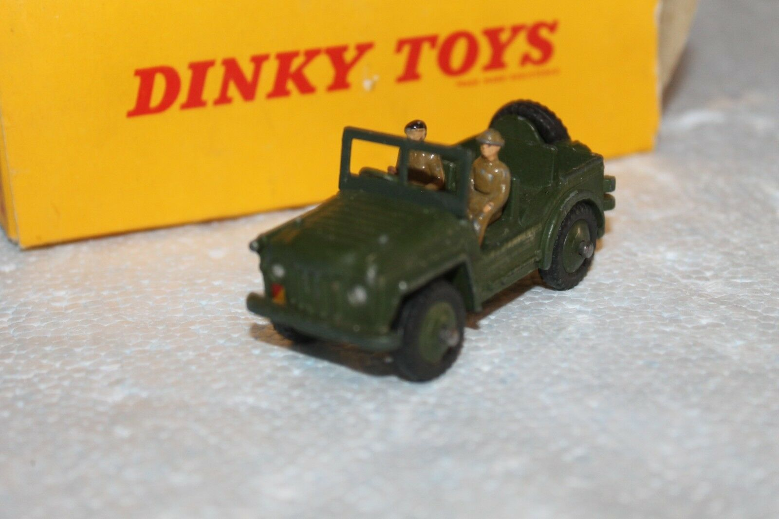 MILITARY DINKY  jeep austin champ  VEHICLE