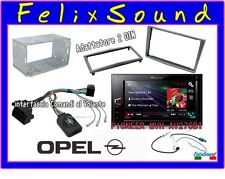 KIT AUTORADIO 2DIN PERFECT FIT  OPEL ASTRA H 2006> + PIONEER MVH-AV270BT