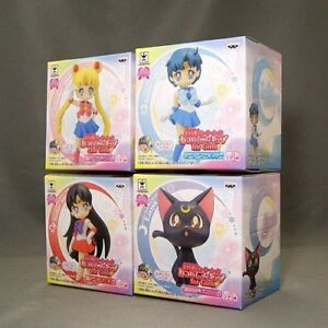 Pretty Guardian Sailor Moon Atsumete Figure for Girls Vol.4 4 Figures Banpresto