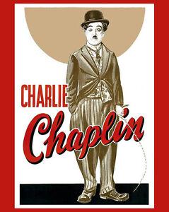 8x10 photo Charlie Chaplin
