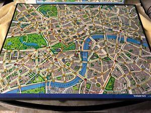 Milton Bradley Scotland Yard game replacement board London 1985