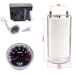 """2""""52mm 12V Car SUV Digital LED Tachometer Tacho Meter Tester"""