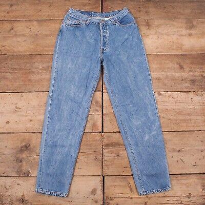 """Laborioso Da Donna Vintage Levis Red Tab 13501 0191 80s Jeans Denim Blu Usa 31"""" X 31"""" R9964-mostra Il Titolo Originale"""