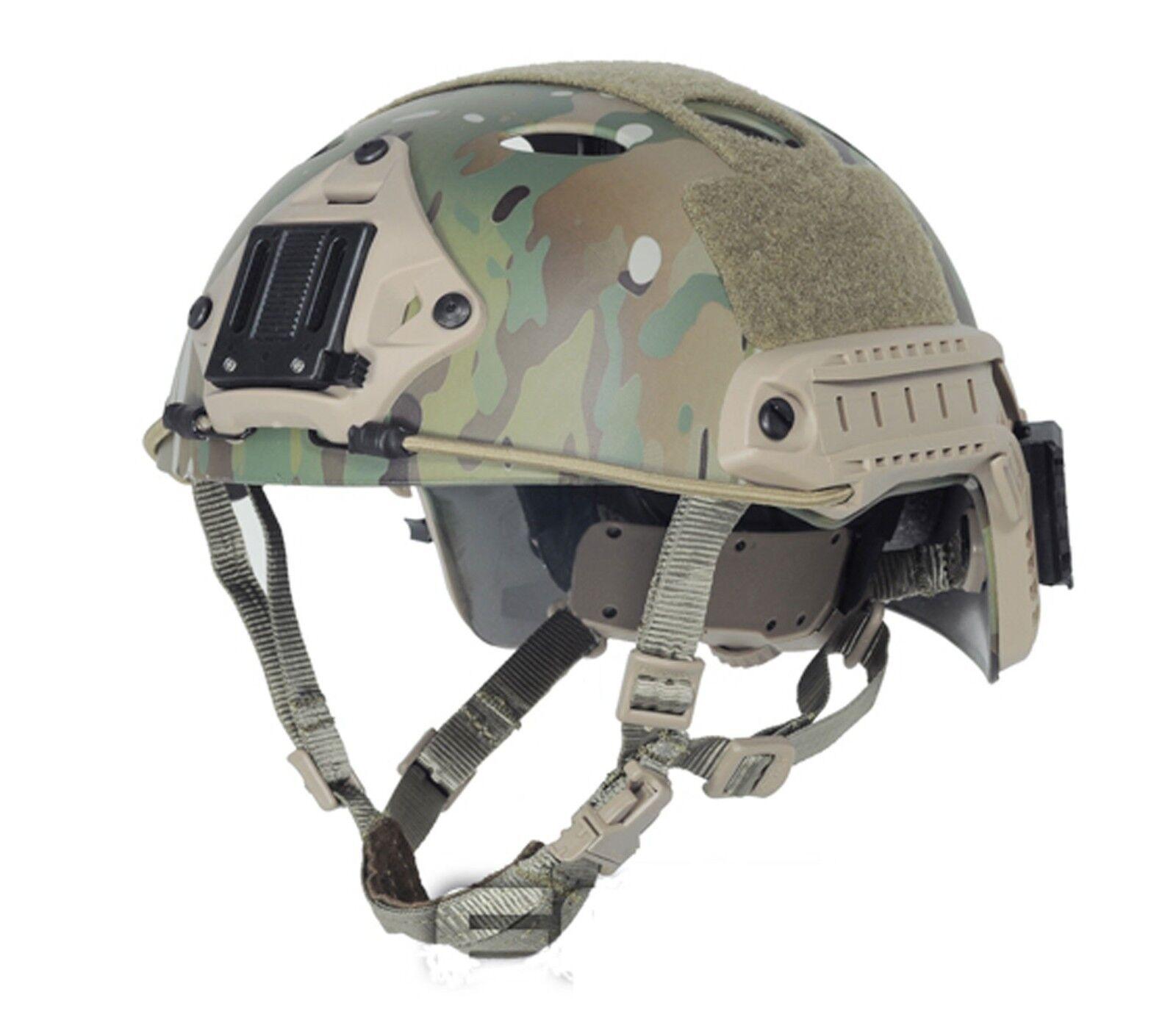 COOL Airsoft GS Predective FMA  FAST Helmet-PJ TYPE  Multicam  PA466L XL