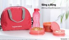 Tupperware Sling a Bling Lunch Set With+Bottel +Lunch Bag As per Stock Available