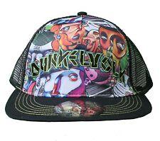 Dunkelvolk Graff World Peruvian Contemporary Art Snapback Baseball Trucker Hat