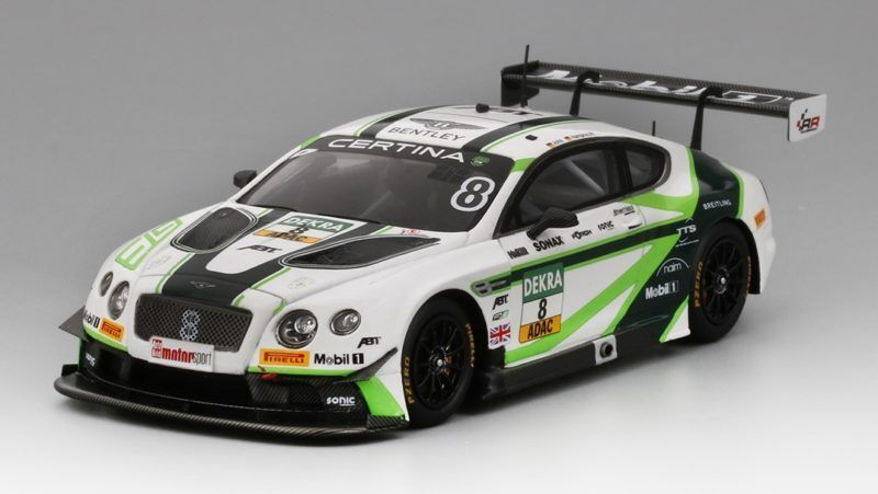 Bentley Continental gt3  8 ADAC GT Masters équipe Abt rouge Bull Ring 2016 1 43