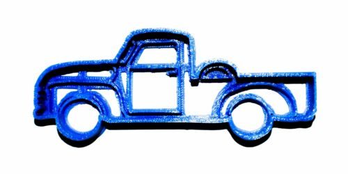 Classic Old Pick Up Truck Pickup Cookie Cutter Baking Tool 3D Print USA PR281