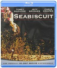SEABISCUIT (Tobey Maguire) -  Blu Ray - Sealed Region free for UK