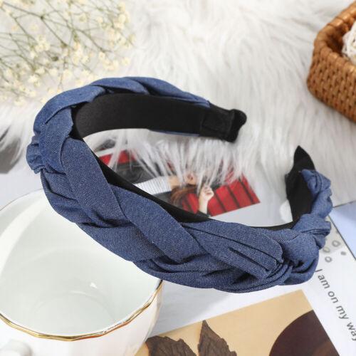 Fashion Women Cross Headbands Twisted Braided Hair Bands Hoops Hair Accessories