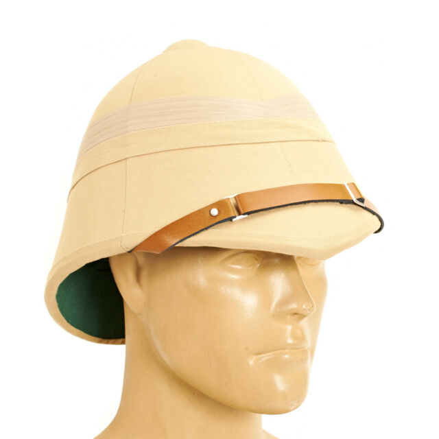 a015db7e24e45 Frequently bought together. British P-1895 Khaki Victorian Colonial Pith  Helmet