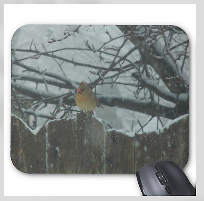 MOUSE PAD CUSTOM PERSONALIZED THICK MOUSEPAD-HORSES WITH FENCE-ANY TEXT FREE