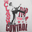 The Clash Out Of Control The Clash Men White T-Shirt Size S-4XL AV747