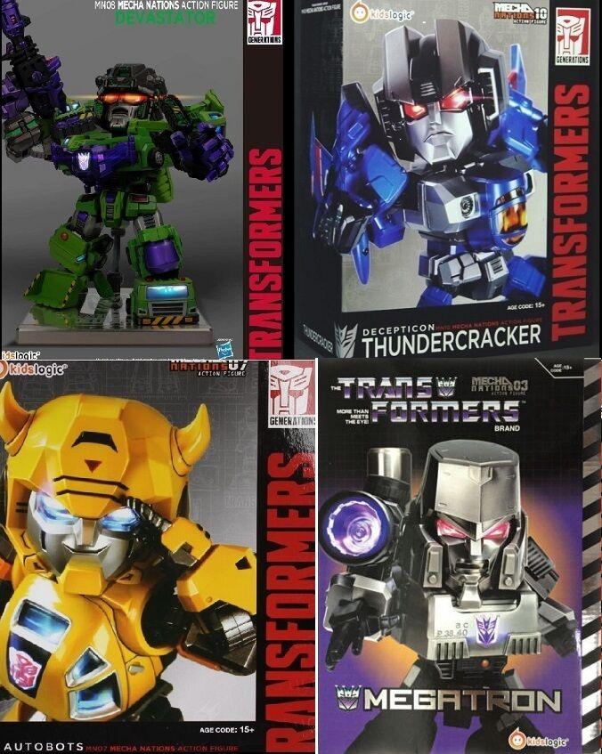 Enfants  Logic Transformers foudre Optimus Prime DEVASTATOR Megatron Figure  vendre comme des petits pains