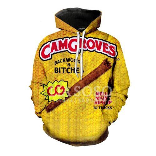 New Fashion Women//Men Backwoods 3D Print Casual Hoodie Sweatshirt K276