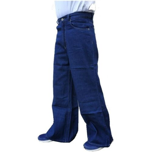 NUOVO 90s Y2K Jeans da uomo Baggy Skater Street Denim Gamba Larga Hip Hop Mega vintage