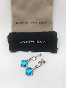David-Yurman-Sterling-Silver-Blue-Topaz-Cushion-on-Point-Diamond-Earrings